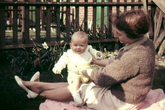 mum david april 1960